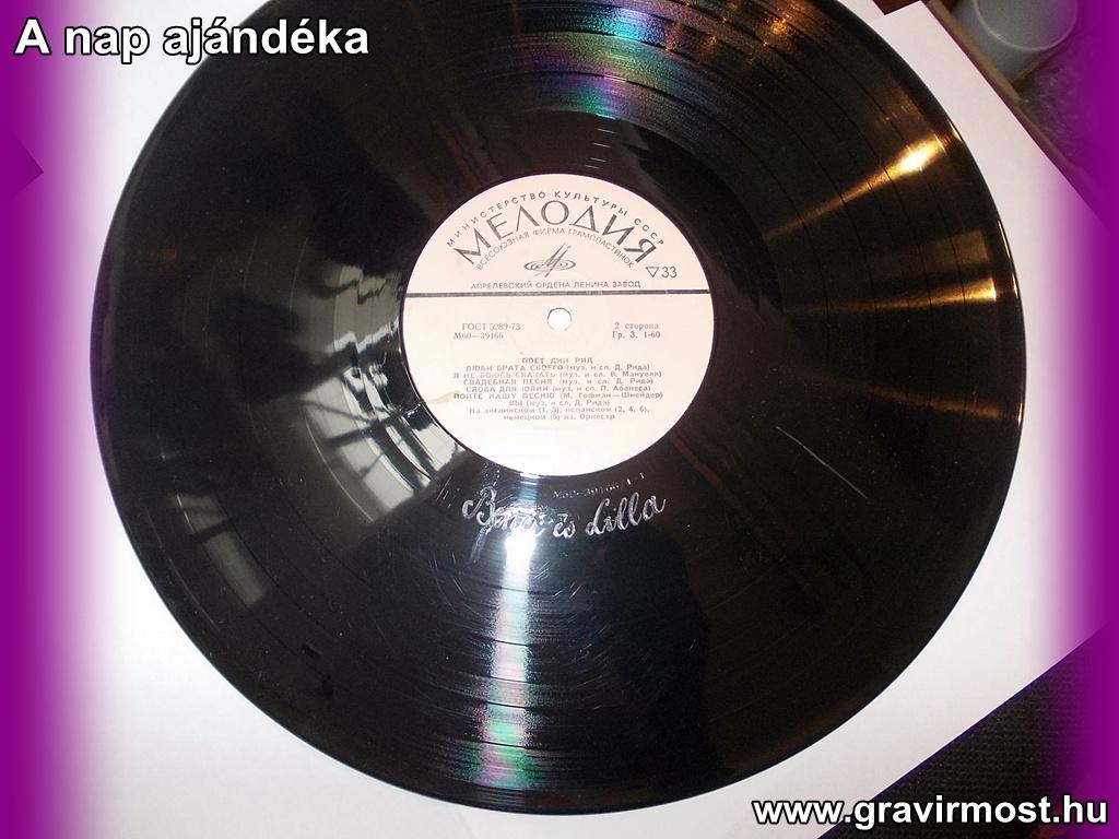 Gravír Most Tatabánya - Gravírozott bakelit lemez Gravír Most 2eb141a619