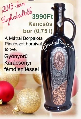 Karácsonyi-Ötletgyűjtemény bor idézetek
